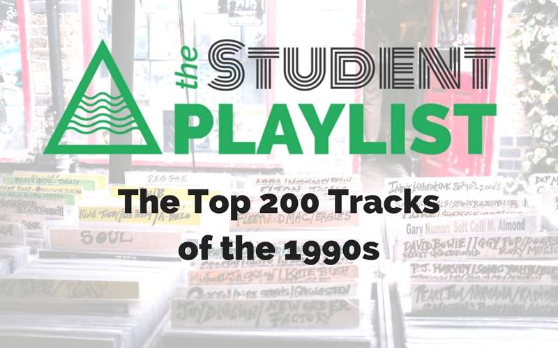 The Top 200 Tracks of the 1990s - The Student Playlist