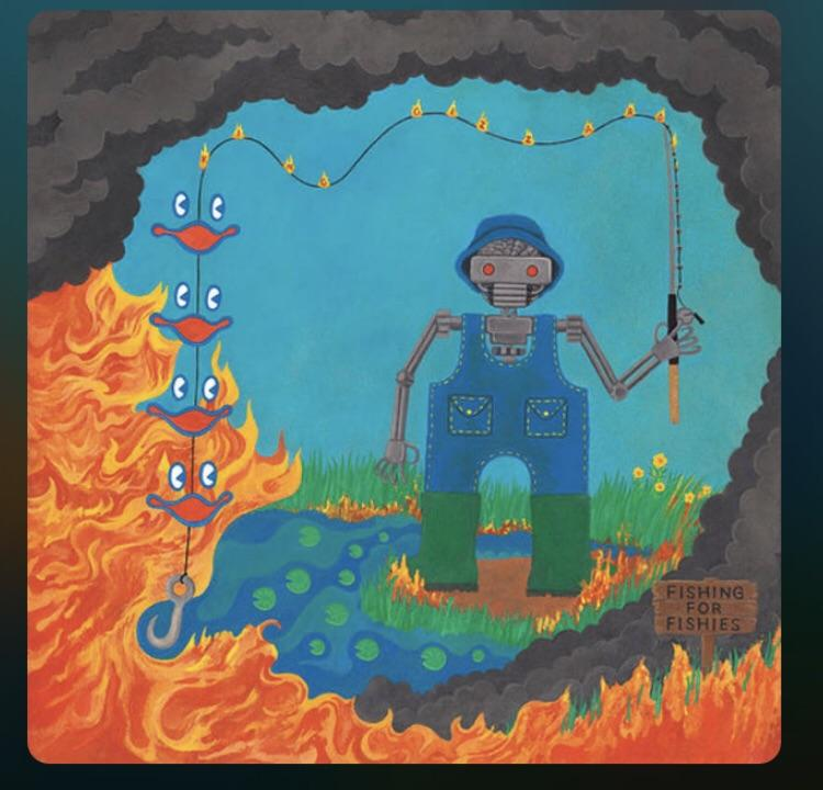 Image result for king gizzard fishing for fishies
